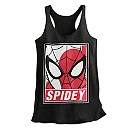 Spider-Man Heathered Tank Tee for Women