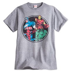Marvel Comics Heroes Tee for Men
