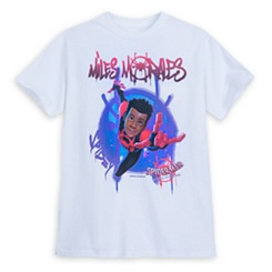 Spider-Man: Into the Spider-Verse Miles Morales T-Shirt for Boys