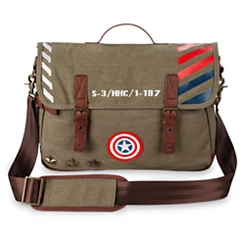 Captain America Military Messenger Bag