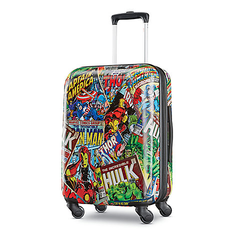 Marvel Comics Rolling Luggage by American Tourister - Small
