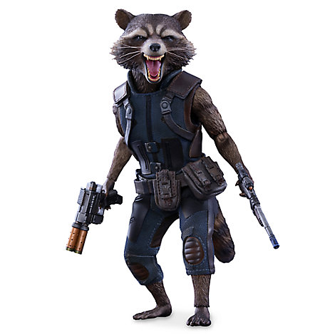 Rocket Raccoon Sixth Scale Figure by Sideshow Collectibles