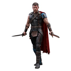 Gladiator Thor Deluxe Sixth Scale Figure by Hot Toys - Thor: Ragnarok