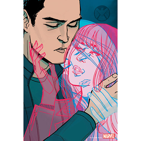 Marvel's Agents of S.H.I.E.L.D. ''Love In The Time of Hydra'' Print