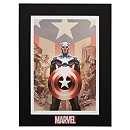 ''Captain America #45'' Lithograph by Steve Epting
