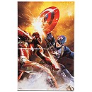 Captain America and Iron Man ''Metal Spark'' Giclée - Limited Edition