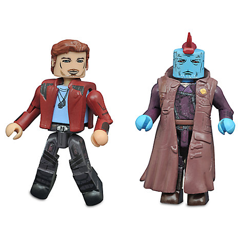 Guardians of the Galaxy Vol 2 Minimates Set  StarLord and Yondu