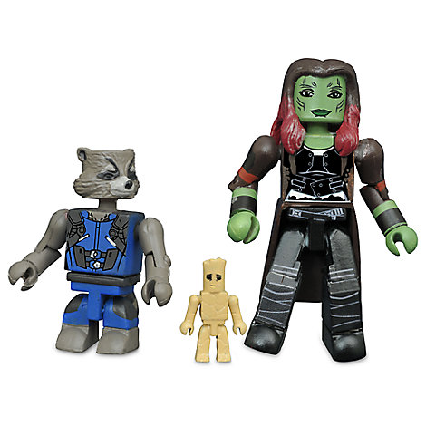 Guardians of the Galaxy Vol 2 Figurine Set  Play Sets  More