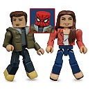 Spider-Man: Homecoming Minimates Set - Peter Parker and May Parker