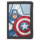 Captain America Nylon Wallet for Kids - Customizable