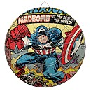 Captain America Dart Board - Customizable