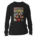 Iron Man Long Sleeve Tee for Adults - Customizable