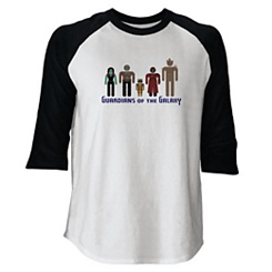 Guardians of the Galaxy Raglan Tee for Adults - Customizable