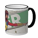 Ms. Marvel Ringer Mug - Customizable