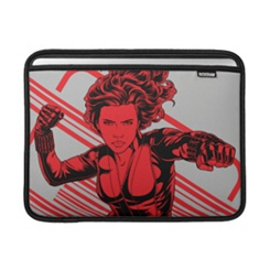 Black Widow MacBook Sleeve - Customizable