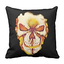 Ghost Rider Skull Pillow