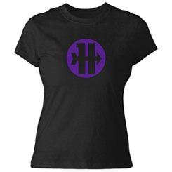 Hawkeye Logo Tee for Women - Customizable