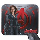 Black Widow Mouse Pad - Marvel's Avengers: Age of Ultron - Customizable