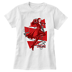 c891534867 Scarlet Witch Tee For Women - Captain America: Civil War - Customizable
