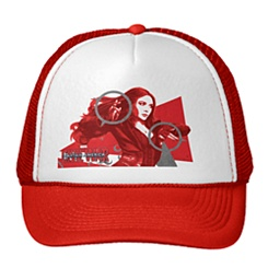 Scarlet Witch Trucker Hat - Captain America: Civil War - Customizable