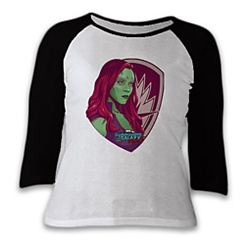 Gamora Raglan Tee for Women - Guardians of the Galaxy Vol. 2 - Customizable
