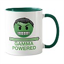 Hulk Gamma Powered Emoji Mug - Customizable