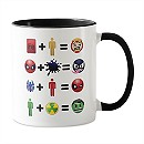 Marvel Emoji Character Equations Mug - Customizable