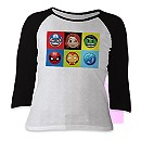 Marvel Emoji Raglan Tee for Women - Customizable