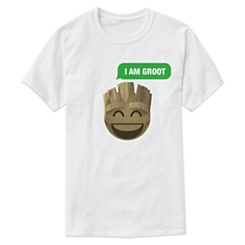 ''I Am Groot'' Text Emoji Tee for Men - Customizable