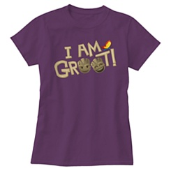 ''I Am Groot'' Text Emoji Tee for Women - Customizable