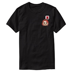 Black Widow Emoji Tee for Men - Customizable