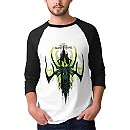 Thor: Ragnarok Hela Green Flames Raglan Tee - Men - Customizable