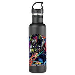 Gladiator Hulk & Thor In Battle Water Bottle - Thor: Ragnarok - Customizable