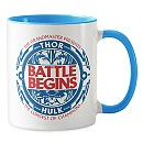 Thor: Ragnarok The Battle Begins Emblem Combo Mug - Customizable