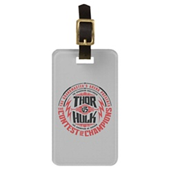 Thor: Ragnarok Contest Of Champions Emblem Luggage Tag - Customizable
