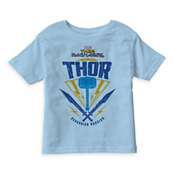Thor: Ragnarok Asgardian Warrior Weapon Graphic T-Shirt for Kids - Customizable