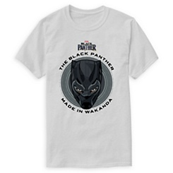 Black Panther Made in Wakanda T-Shirt for Men - Customizable