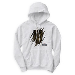 Black Panther Claw Marks Hoodie for Men - Customizable