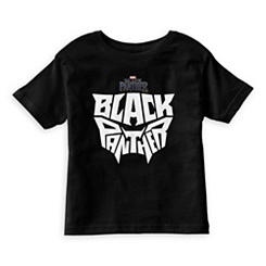 Black Panther Typography T-Shirt for Kids - Customizable