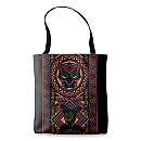 Black Panther Wakandan Allover Print Tote - Customizable