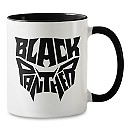 Black Panther Typography Mug - Customizable