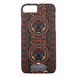 Black Panther Pattern iPhone 8/7 Case - Customizable