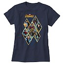 Marvel's Avengers: Infinity War Diamond Panel T-Shirt for Women - Customizable