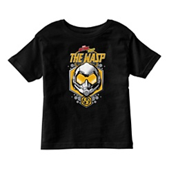 Ant-Man and The Wasp: The Wasp Helmet Icon T-Shirt for Boys - Customizable