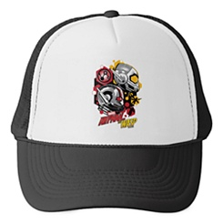 Ant-Man and the Wasp: Hexagonal Helmet Icons Trucker Hat - Customizable