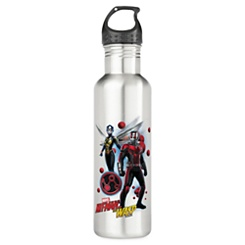 Ant-Man and The Wasp: Pym Particles Badge Stainless Steel Water Bottle