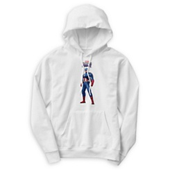 Captain America Pullover Hoodie for Men - Marvel Future Fight - Customizable