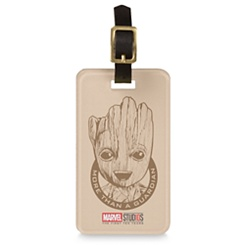 Groot ''More than a Guardian'' Luggage Tag - Customizable