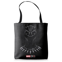 Black Panther ''More than a King'' Tote Bag - Customizable