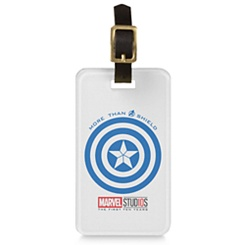 Captain America ''More than a Shield'' Luggage Tag - Customizable